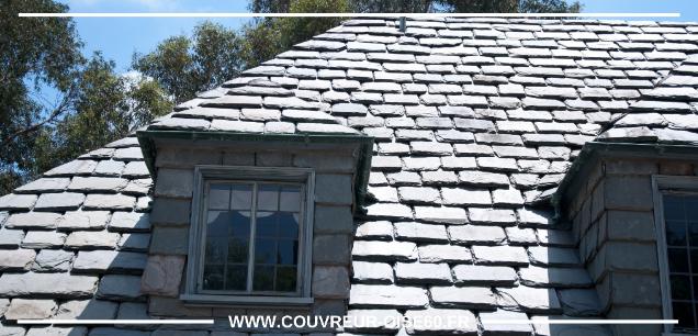 tuiles effet ancienne sur toit avec fenetre Oise