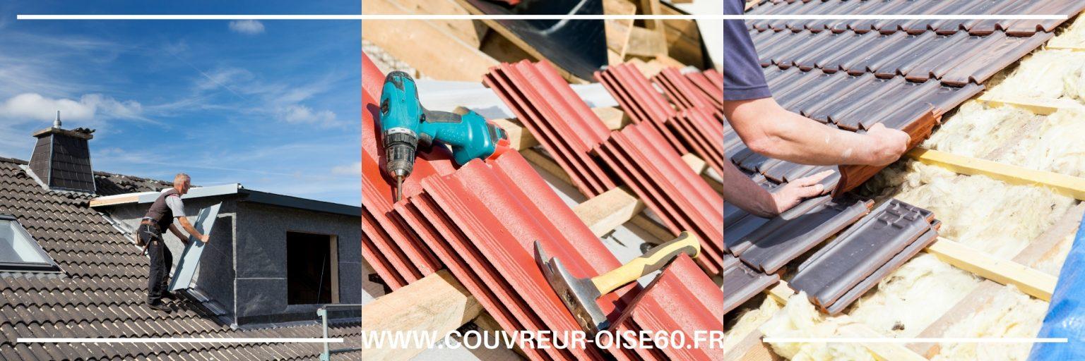 réparation toiture Chantilly 60500